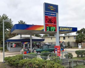 jacksonville gas station for sale sunoco